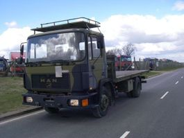 army truck MAN 13-192 F IC 4X2 EX-ARMY TRUCK. 1995