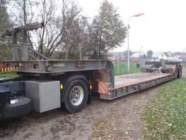 semi lowloader semi trailer Nooteboom 4 ASSER GESTUURD 1988