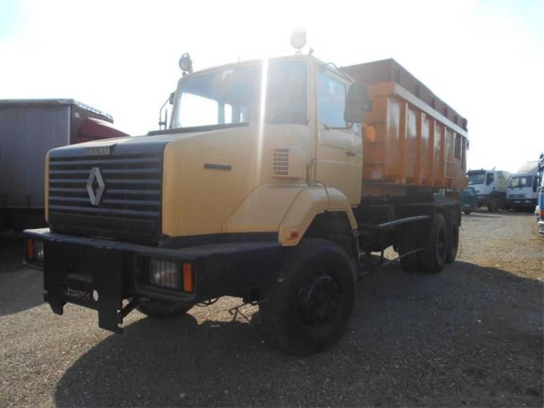 drop side truck Renault CBH 1989
