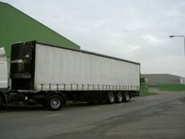 refrigerated semi trailer Degroote koel schuifzeil oplegger
