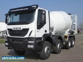 concrete mixer truck Iveco Trakker AD410T44H (5 Units)