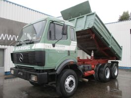 camion à benne basculante > 7.5 t Mercedes Benz SK 2435 , 6x4 , V8 Biturbo , Airco 1990