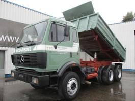 camión de volquete > 7.5 t Mercedes Benz SK 2435 , 6x4 , V8 Biturbo , Airco 1990