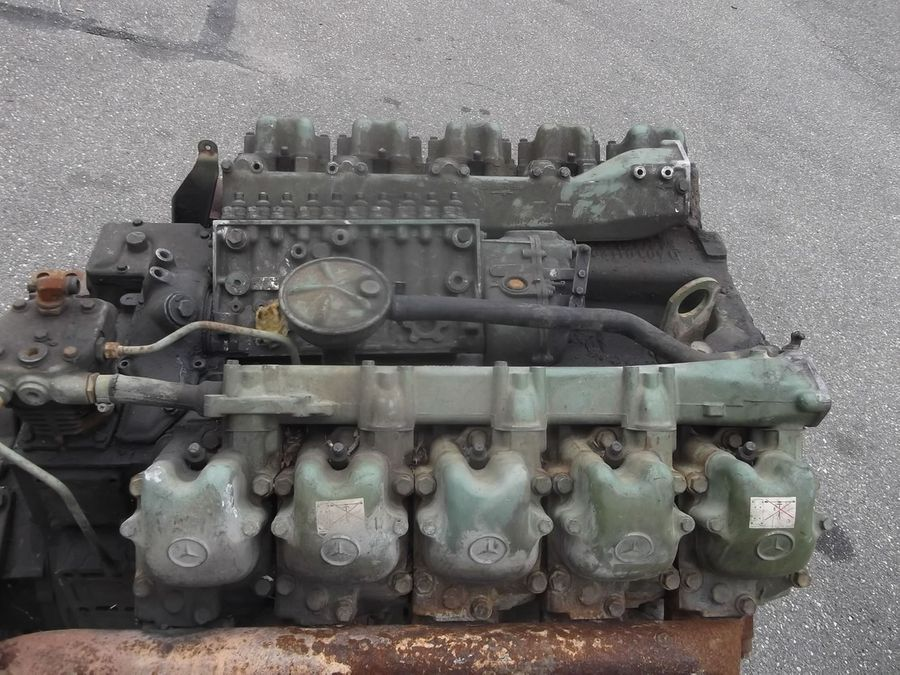 Mercedes Benz OM 403 Engine V10 + ZF Gearbox, 8 pieces in stock | Engine |  Stedefra B V