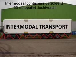 isolated shipping container intermodal 45 ft huckapack geisoleerd , luchtvracht , bloemenbreed 2000