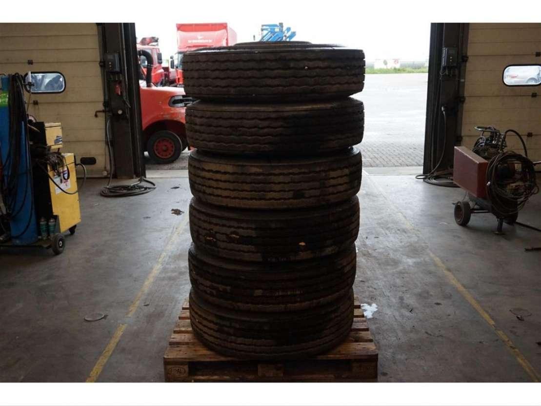 Double Coin 27580r225 6xband Met Velg Tyres Truck Part