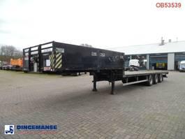 Tieflader Auflieger SDC 3-axle semi-lowbed container trailer 10-20-30 ft 2004