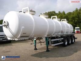 Tankauflieger Auflieger Guhur Chemical ACID tank Alu  24.2 m3 / 1 comp 1998