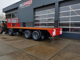flatbed full trailer agpro 3A BLADGEVEERD