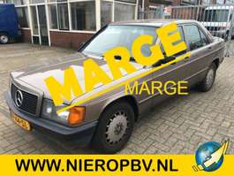 sedan car Mercedes Benz 190d 2.5diesel . 1989