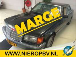 sedan car Mercedes Benz 500 sel 1981
