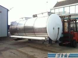 cisternové vozidlo Van Hool 13.000 L RVS ISO tank, 2 comp 1998