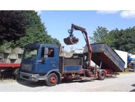 tipper truck > 7.5 t MAN TGL 12.210 Kipper Kran 2007