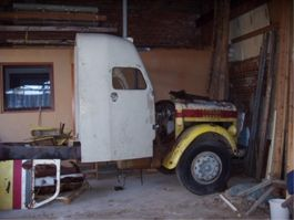 closed box truck > 7.5 t Scania L71 1961