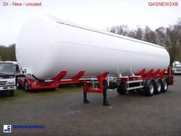 Tankauflieger Auflieger MTD Gas tank steel 57 m3 NEW - 3 Axle BPW - DRUM 2017
