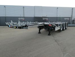 container chassis semi trailer Pacton *Vanaf € 380,- per maand 2020