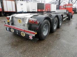 container chassis semi trailer Burg 3-assige oplegger 1987