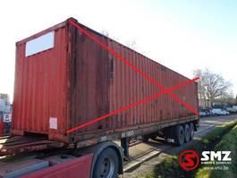 Container-Fahrgestell Auflieger Meert Oplegger 1980