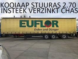 sliding curtain semi trailer Schmitz Cargobull kooiaap aansluiting , stuuras 2007