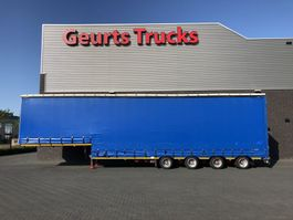 semi lowloader semi trailer ES-GE 4 STL 4 ASSER SEMIE DIEPLADER MET HUIF 2002