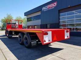 drop side full trailer AGPRO 3A BLADGEVEERD 2018