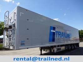 walking floor semi trailer Knapen Trailers K200 - 92m3 High Pressure Cleaner 2020