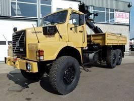 platform truck Volvo N10 - 6x6 + FASSI F75-21 CRANE