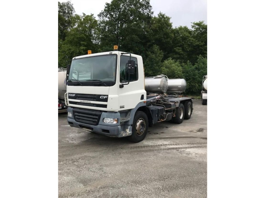 container truck DAF CF 85 -380 6x4 MANUAL SPRING SUSPENSION 2003