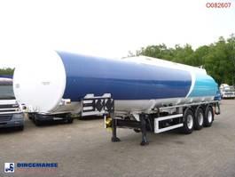 Tankauflieger Auflieger Caldal Heavy oil tank alu 37.7 m3 / 1 comp + pump 2000