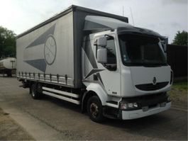 sliding curtain truck Renault MIDLUM 220 WITH TAILLIFT 2006