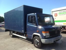 closed box truck > 7.5 t Mercedes Benz VARIO 814 -AS NEW 1999
