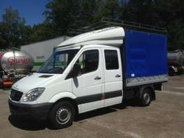 vcl inclinable Mercedes Benz SPRINTER DOUBLE CABINE/PORTE BAGAGE/BACHE 2007