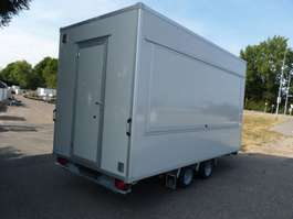 closed box car trailer dutch trailers verkoopwagen