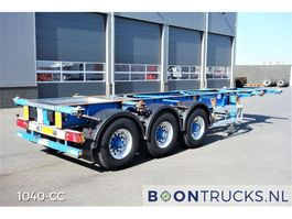 container chassis semi trailer Groenewegen 30CC-14-27 | 20-30 ft ADR chassis 2004