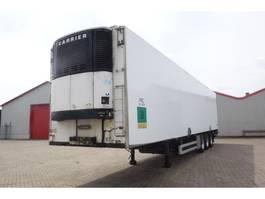 refrigerated semi trailer Van Eck DT-3NI Koeloplegger Carrier met ondervouwklep, Binnenmaten: 1335x250x267cm 1999