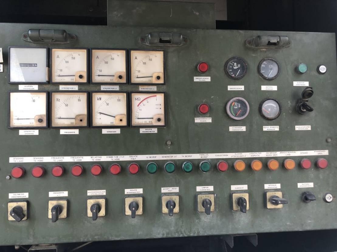generatore Deutz Leroy Somer F8L413F 100 kVA Supersilent generatorset 1992