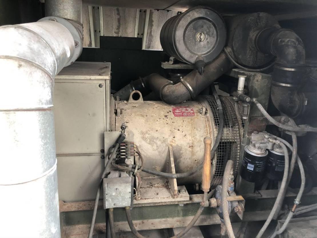 generátor Deutz Leroy Somer F8L413F 100 kVA Supersilent generatorset 1992