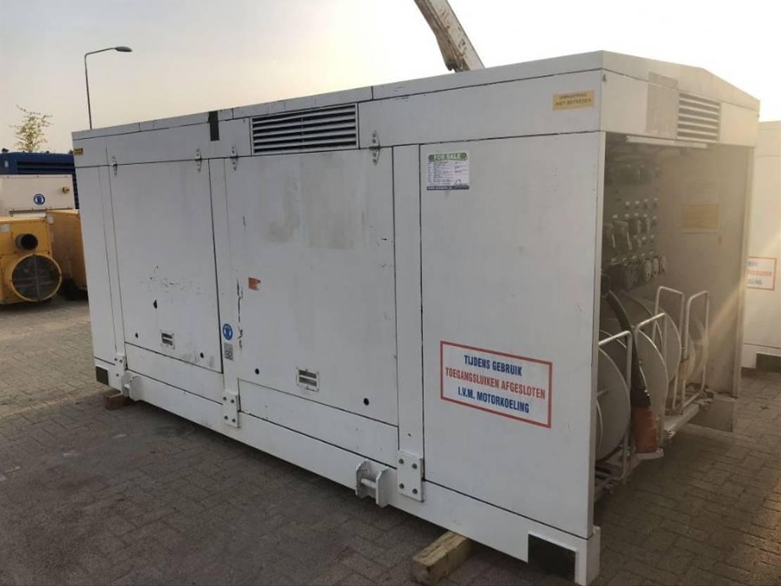prądnica Deutz Leroy Somer F8L413F 100 kVA Supersilent generatorset 1992