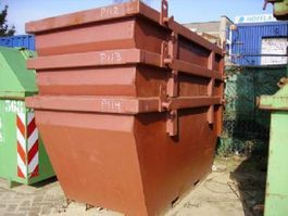 Reststoffcontainer 2 m3 containers