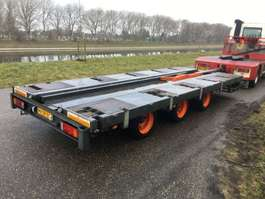drop side full trailer Van Eck OM 18 3 3-axle air suspended 1992