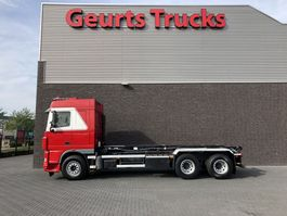 container truck DAF FAS XF 105 460 6x2 kabelsyteem 2014