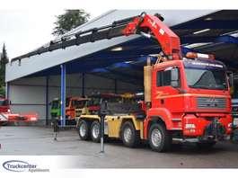 cab over engine MAN TGA 35.430, 85 t/m HMF Thor, 8x4 Manuel 2005