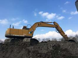 chain excavator - trencher small Hitachi ZX280LC-3 2008