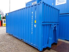 dry standard shipping container Onbekend 20ft op slede