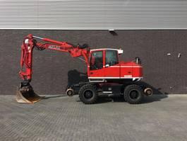 wheeled excavator Terex TW 160 SR RAILWAY EXAVATOR 2008