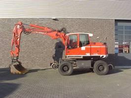 wheeled excavator Terex TW 160 SR  RAILWAY EXAVATOR 2009