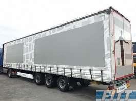 sliding curtain semi trailer Krone MEGA 3 ass schuifzeil/schuif-hefdakSD-OL87HG 2011