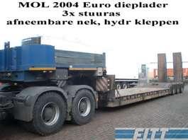 semi-remorque surbaissée Mol 3ass EURO dieplader 2004