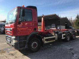 container truck DAF CF 85 430 6X4 HOOK SYSTEM WITH ADR 2006