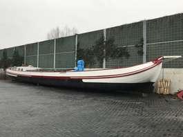 sailboat BUITENSTVALLAATSTER SKUTSJE ZEILSCHIP BUITENSVALLAATSTER SKUTSJE 1915
